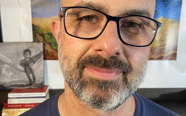 retrato do pesquisador leandro gitatti