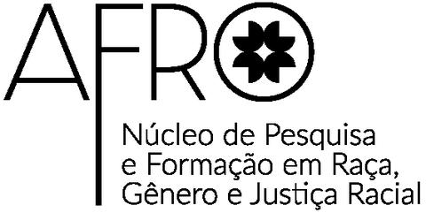 Logo do Afro-CEBRAP sobre fundo azul.
